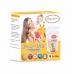 Autumnz - Double ZipLock Breastmilk Storage Bag (28 bags) *7oz* (GIRAFFE)