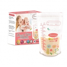 Autumnz - Double ZipLock Breastmilk Storage Bag (28 bags) *12oz*