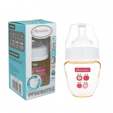 Autumnz - PPSU Wide Neck Feeding Bottle 4oz/120ml (Single) *Juicy Apple*