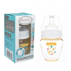 Autumnz - PPSU Wide Neck Feeding Bottle 4oz/120ml (Single) *Starry Sparkle*