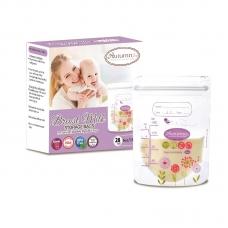 Autumnz - Double ZipLock Breastmilk Storage Bag (28 bags) *5oz*