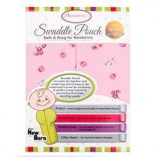 Autumnz - Swaddle Pouch (Pink Flora) - Size S