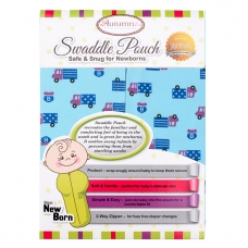 Autumnz - Swaddle Pouch (Sporty Trucks) - Size S
