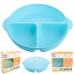 Autumnz - Baby Divided Plate With Lid (Blue)