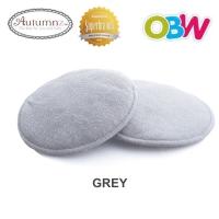 Autumnz- Basic Lacy Washable Breastpads (Grey Lace) - 6 pcs