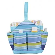 Autumnz Portable Diaper Caddy - Cutezie Blue