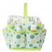 Autumnz Portable Diaper Caddy - Lime Polka