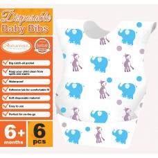 Autumnz - Disposable Baby Bibs (6pcs/pack) *BEST BUY*