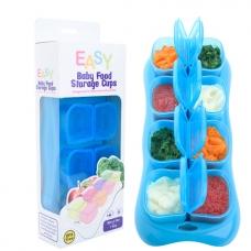 EASY Breastmilk & Baby Food Storage Cups (2oz) - OCEAN BLUE