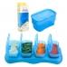 EASY Breastmilk & Baby Food Storage Cups (4oz) - OCEAN BLUE