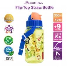 Autumnz - Flip Top Straw Bottle 350ml /12oz *Pirates* (Best Buy)