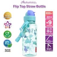 Autumnz - Flip Top Straw Bottle 650ml /22oz *Jurassic Forest* (Best Buy)