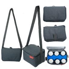 Autumnz - Fun Foldaway Cooler Bag (Cool Grey)