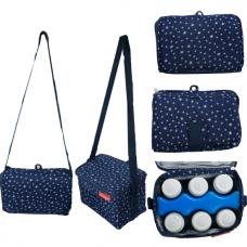 Autumnz - Fun Foldaway Cooler Bag (Starry Blue)