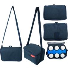 Autumnz - Fun Foldaway Cooler Bag (Twitter Blue)