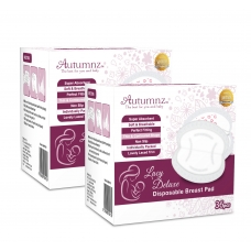 Autumnz- Lacy Deluxe Disposable Breastpads (72 pcs) *TWIN PACK* - BEST BUY