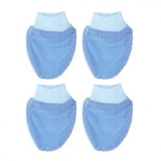 Autumnz -2 Pack Mittens *EYELET* (Blue)