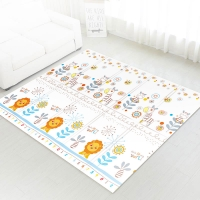 Autumnz - PE Foldable Baby Playmat (Size L: 200cm x 180cm x 1cm) *This Is My World / Hello Kittens*