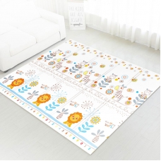Autumnz - PE Foldable Baby Playmat (Size M: 180cm x 160cm x 1cm) *This Is My World / Hello Kittens*