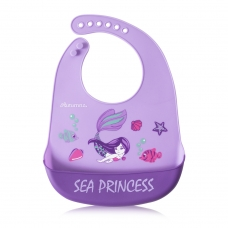 Autumnz Adjustable Soft Silicone Bib *Sea Princess* (6m+)