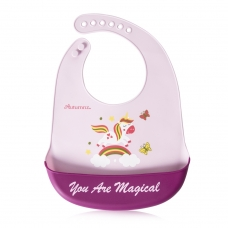Autumnz Adjustable Soft Silicone Bib *You Are Magical* (6m+)