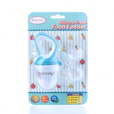 Autumnz Silicone Fresh Food Feeder (Blue) *comes with 3 Silicone Sacs S, M & L*