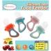 Autumnz Silicone Fresh Food Feeder (Orange) *comes with 3 Silicone Sacs S, M & L*