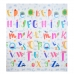 Autumnz - PE Foldable Baby Playmat (Size M: 180cm x 160cm x 1cm) *Jungle Safari / Alphabets*