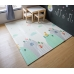 Autumnz - PE Foldable Baby Playmat (Size M: 180cm x 160cm x 1cm) *Top Of The World / Back To Basic*