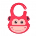 Autumnz - Adjustable Soft Silicone Bib *Monkey*