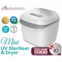 Autumnz - Mini UV Steriliser & Dryer (Grey) *BEST BUY*