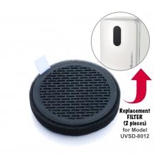 Autumnz - UV Steriliser & Dryer (Model UVSD-8012) Replacement FILTER  (2 pcs) *BEST BUY*