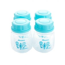 Autumnz - Standard Neck Breastmilk Storage Bottles *2oz* (4 btls) - Up Up and Away
