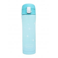 Autumnz - Chic Stainless Steel Vacuum Flask 500ml *Turquoise*