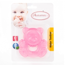 Autumnz - Water Teether *Pink Bear*