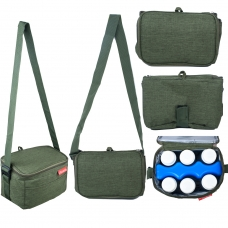 Autumnz - Fun Foldaway Cooler Bag (Pine Green)