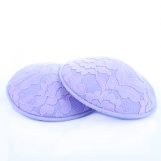 Autumnz- Washable Breastpads (Cupcake Lilac) - 6 pcs