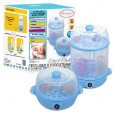 Autumnz - 2-in-1 Electric Steriliser & Food Steamer (Blue)