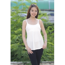 (Clerance) Autumnz- ADELE Padded Maternity/Nursing Tank *White*
