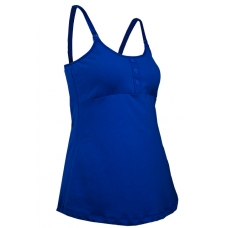 (Clerance) Autumnz- ADELE Padded Maternity/Nursing Tank *Imperial Blue*