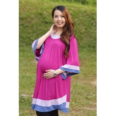 Autumnz - Arabella 2-in-1 Maternity/Nursing Tunic (Violet)