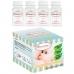 Autumnz - Standard Neck Breastmilk Storage Bottles *5oz* (4 btls) - White Clear