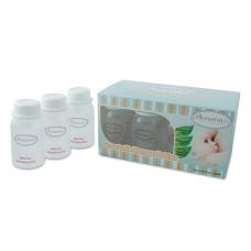 Autumnz - Standard Neck Breastmilk Storage Bottles *5oz* (10 btls) - White Clear