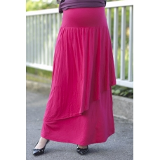 Autumnz - Breezy Maternity Long Skirt *Rose*