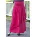 Autumnz - Breezy Maternity Long Skirt *Rose*