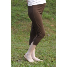 Autumnz - Maternity Cropped Leggings (Brown) (9019)