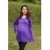 Autumnz - Eliza 2-in-1 Maternity/Nursing Top (Purple)