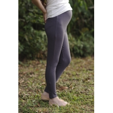 Autumnz - Maternity Leggings (Graphite) (F029)