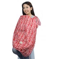 Autumnz POSH Nursing Cover - Sanctuary Red