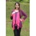 Autumnz - Janelle 2-in-1 Maternity/NursingTop (Plum /Pink)